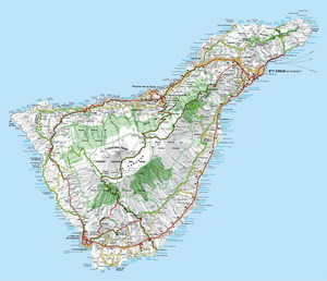 Отдых - остров Тенерифе.