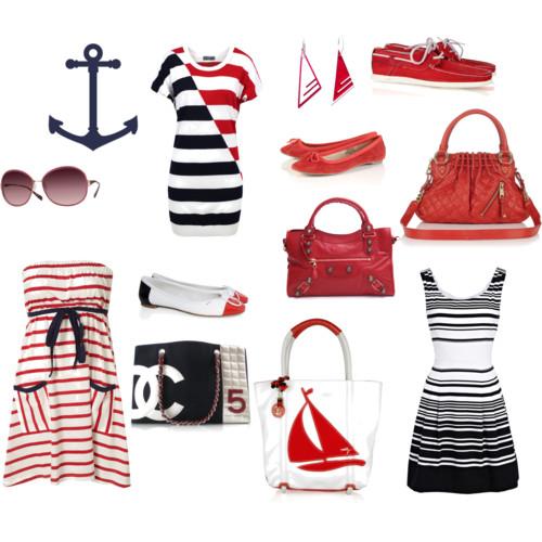 Морской стиль в одежде. для женщин 40 лет.