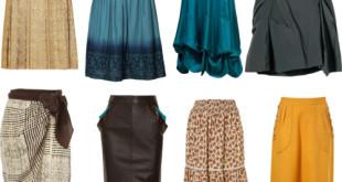 Модные юбки для женщин 40 лет.