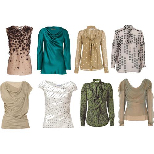 Блузка из шифона-Шифоновые блузки-Блузки-Блузки и туники