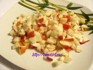 Салат из фруктов рецепт