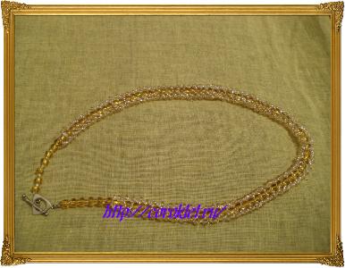 Как сделать ожерелье из бисера