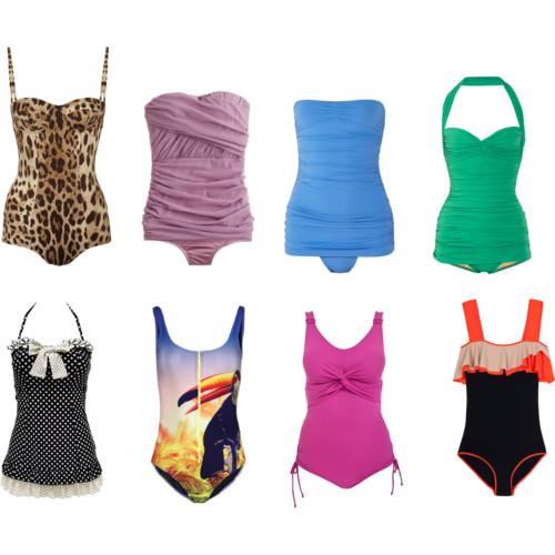 Модные купальники для полных