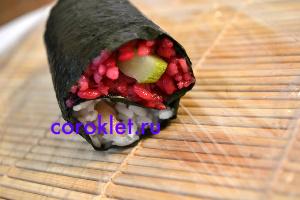 Как готовить роллы