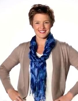 Видео как завязывать шарфы