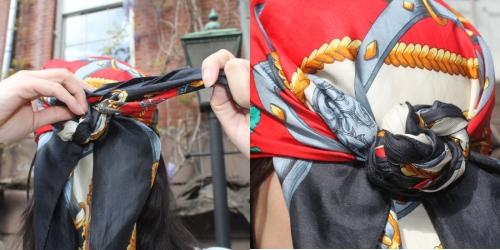 Способы завязать шарф