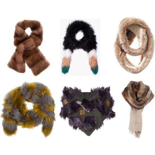 Модные шарфы 2012