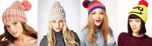 Вязаные шапки для женщин