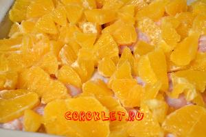 Курица с апельсинами фото