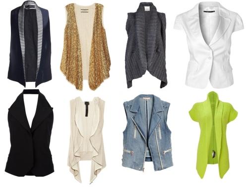 Модные жилеты фото