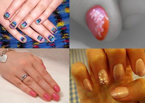 Короткие ногти 2013