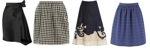 Модные юбки лета 2013