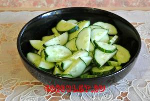 Простые летние салаты