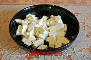 Приготовление летнего салата