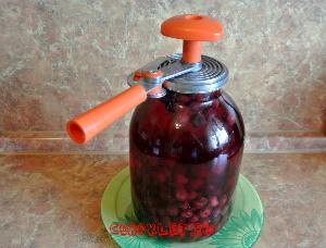 Как сделать компот из вишни