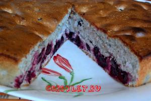 Как сделать пирог с вишней