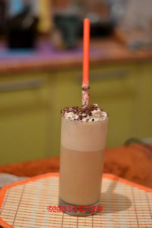 Холодный кофейный коктейль