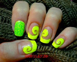 Дизайн ногтей фото френч цветной