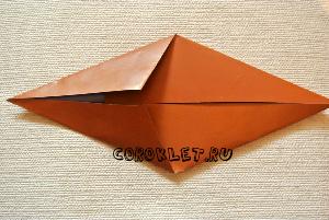 оригами +из бумаги лошадь схема