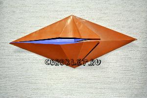 Поделки оригами лошадь