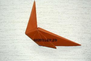Оригами конь схема