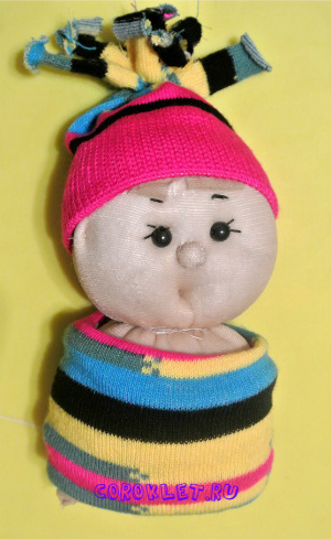 Шьем куклу из капона