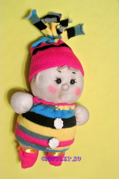 Кукла из капрона по японским схемам