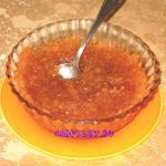 Яблочный джем в хлебопечке