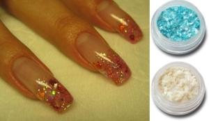 Ракушки в дизайне ногтей