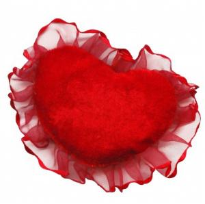 Сшить подушку сердце