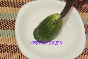 Лебедь из овощей