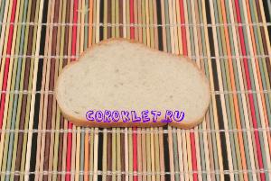 Бутерброд с сыром в духовке