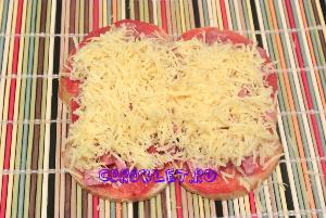 Пицца на батоне фото