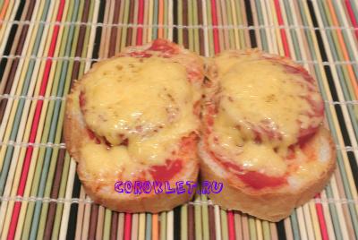 Горячие бутерброды на завтрак