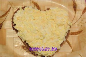 Бутерброды -сердца