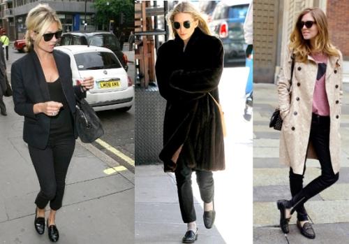 Обувь лоферы женские