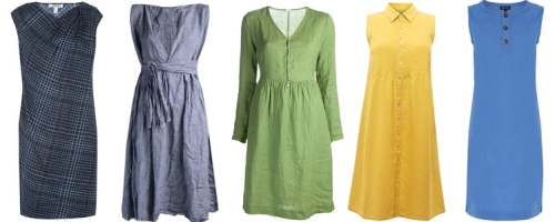 Как ухаживать за одеждой из льна