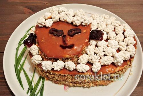 Торт барашек фото
