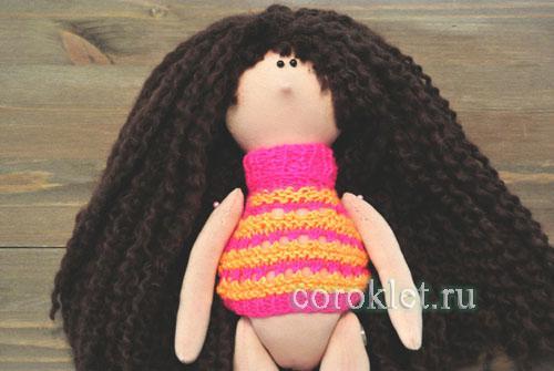 Свитер для куклы своими руками