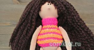 Свитер для куклы