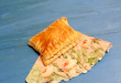 Слойки с сыром из готового теста