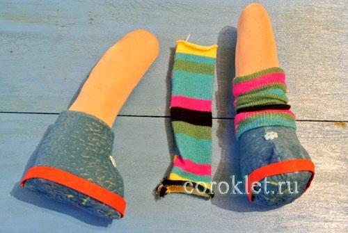 Как сшить носочки для куклы