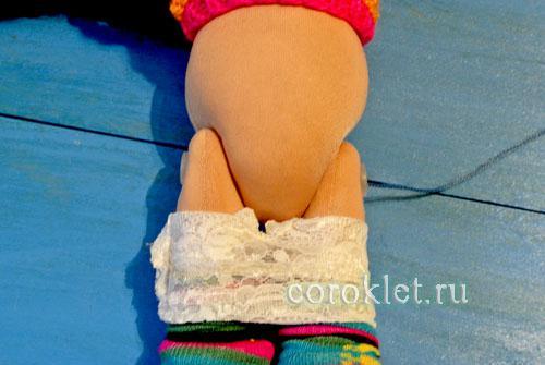 Белье для куклы Большеножки