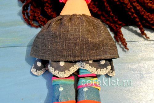 Юбка кукле