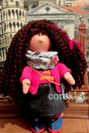 Как сшить куклу Большеножку МК