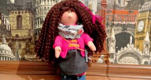 Кукла Большеножка мастер класс