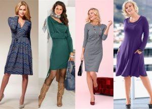 Стильные платья для женщин 40 лет фото