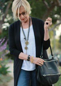 Стильный образ для женщины 40 лет