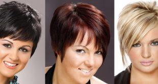 Стрижки для круглого лица для женщин после 40 лет фото