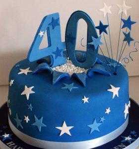 Торт на 40 лет женщине